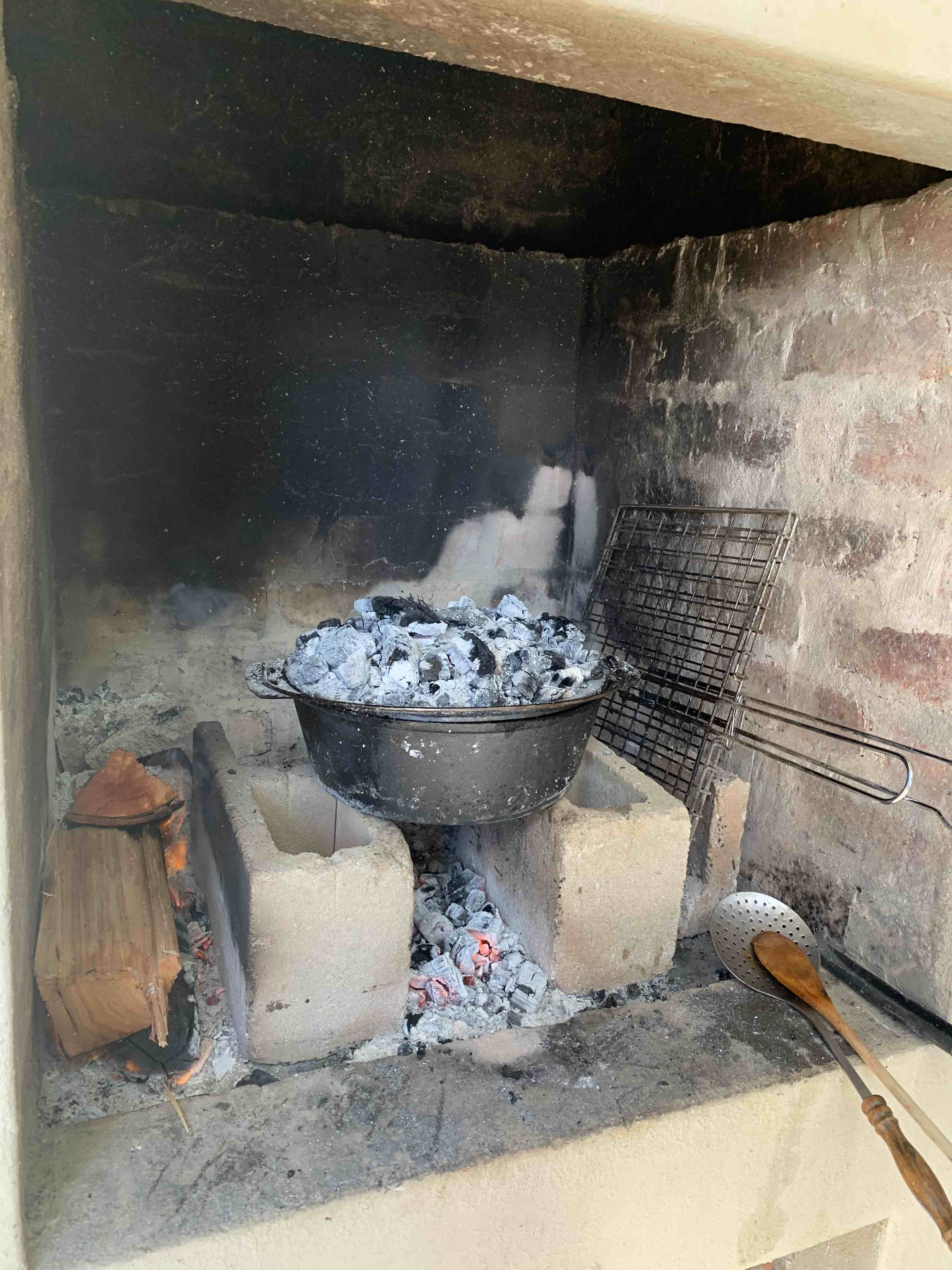 Finished Oxtail Potjie